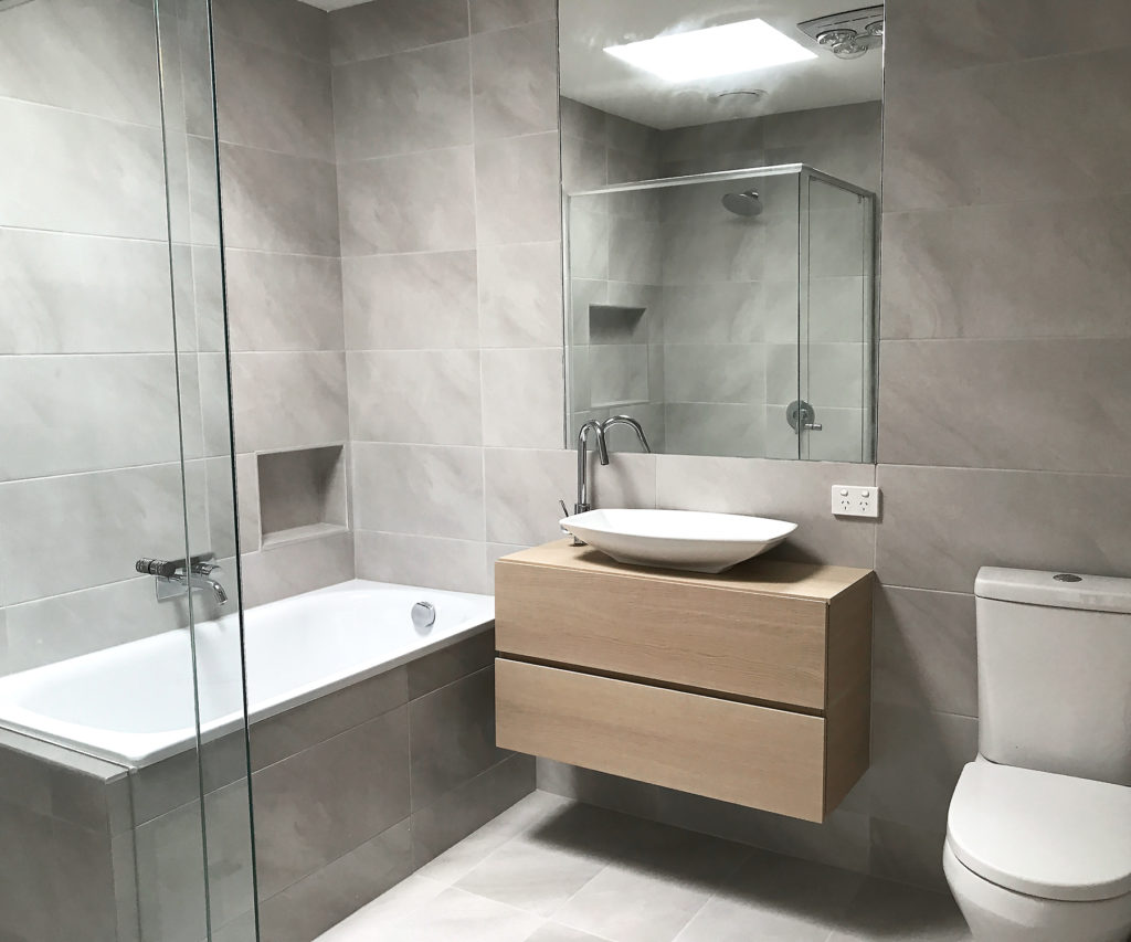 bathroom renovations - horwood builders